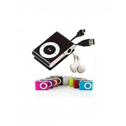 TARA LOTE 10 MP3 PLAYER CLIP + AURICULARES + CABLE