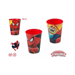 VASO 260 ML SPIDERMAN