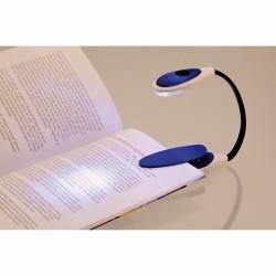 LAMPARA LUZ LECTURA (PILAS INCLUIDAS) AZUL